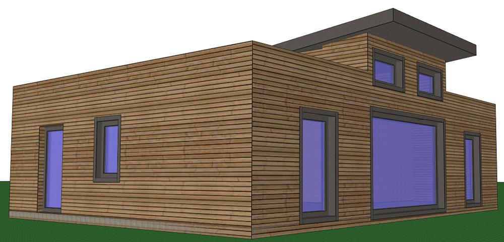 Maquette maison passive - ecoXia