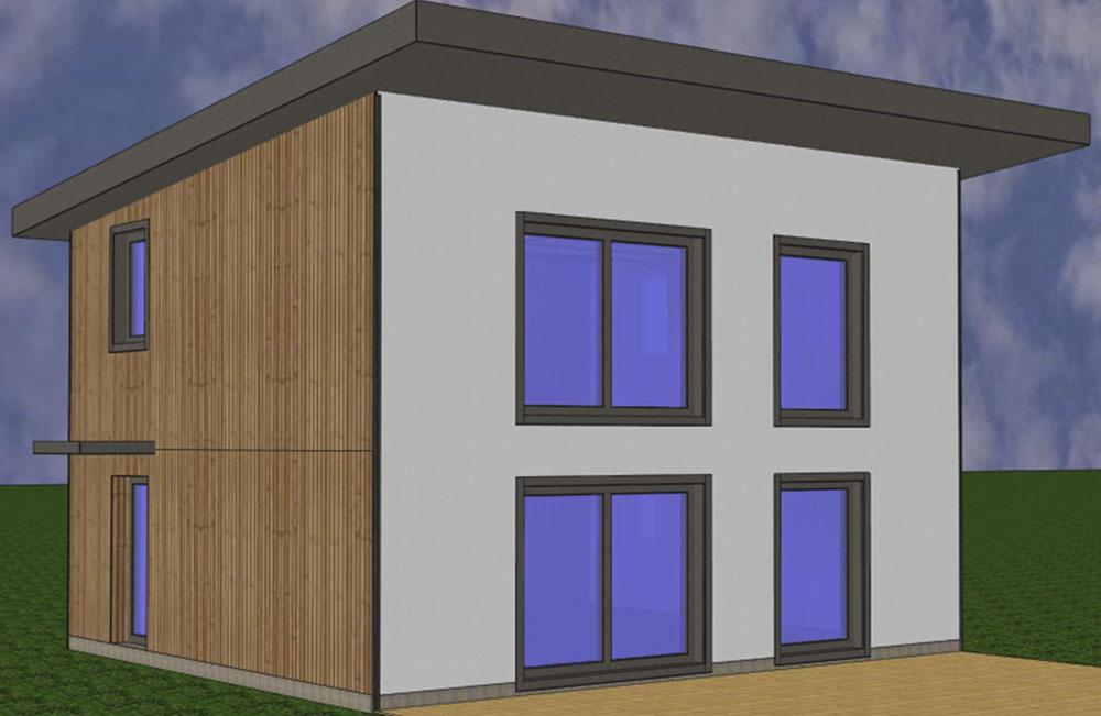 Maquette maison passive - eco-construction