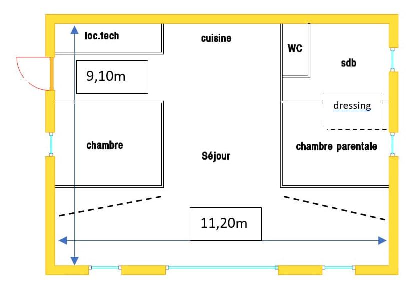 Distribution maison passive - ecoXia