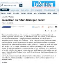 Le Parisien - ecoXia