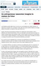 Le Parisien entrepreneur - ecoXia